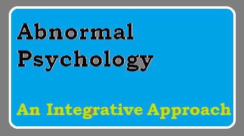 Abnormal Psychology Barlow Pdf