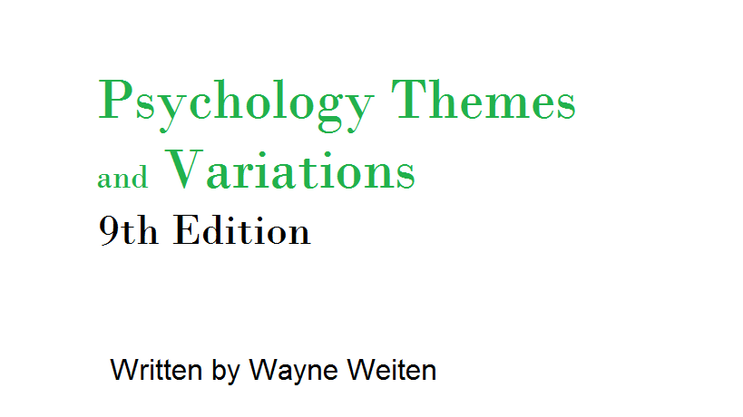 Psychology-Themes-and-Variations-9th-edition