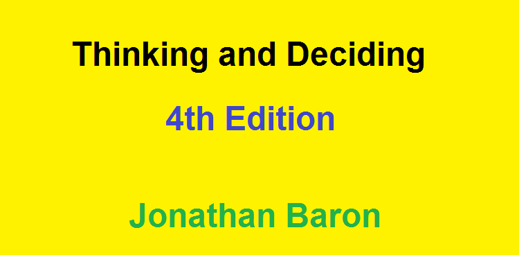 Thinking-and-Deciding-Book-PDF-Download